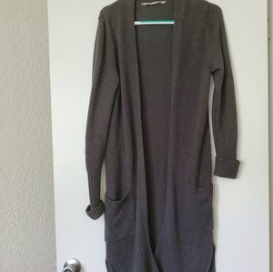Athleta Wrap Sweater Long Size Medium